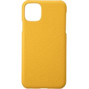 iPhone 11 Pro Max YLW Shrunken-calf Leather Shell Case