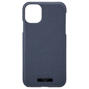 iPhone 11 NVY EURO Passione PU Leather Shell Case