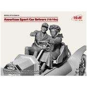 24014 アメリカンスポーツカー 女性ドライバー&紳士 1910s [1/24スケール プラモデル]