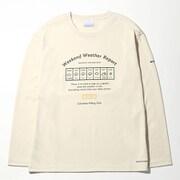 コールドスプリングパーク ウィメンズロングスリーブTシャツ PL3308 (022)Stone Sサイズ [アウトドア カットソー レディース]