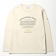 コールドスプリングパーク ウィメンズロングスリーブTシャツ PL3308 (022)Stone Mサイズ [アウトドア カットソー レディース]
