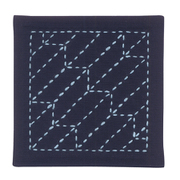 NO.263 オリムパス製糸 刺し子キットコースター NO.263