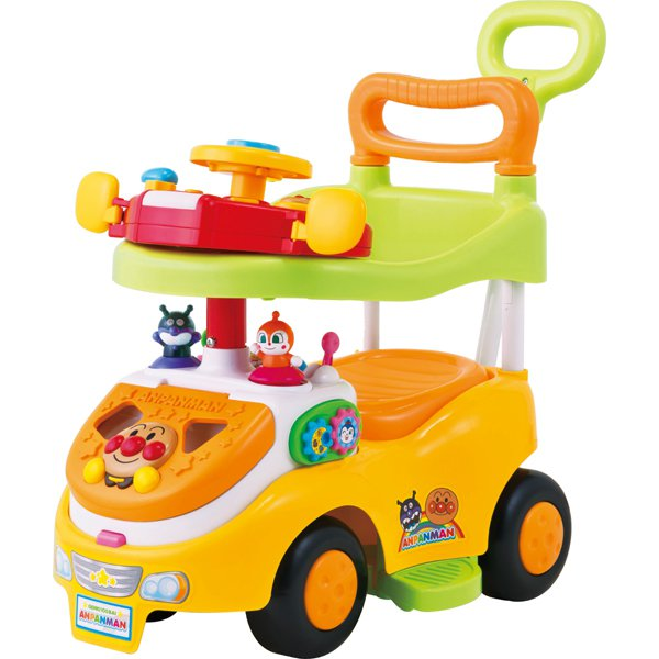 アンパンマン よくばりビジーカーDX 押し棒+ガード付き [対象年齢:10ヵ月~]