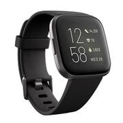 FB507BKBK-FRCJK [Fitbit Versa 2(フィットビット ヴァーサ2)Alexa搭載 スマートウォッチ ブラック/カーボン アルミニウム L/Sサイズ]