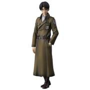 進撃の巨人 リヴァイ coat style [塗装済み完成品フィギュア 全高約220mm]