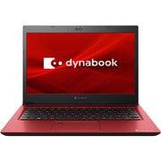 P1S3LPBR [B5モバイルパソコン Dynabook S3/13.3型/Celeron 3867U/メモリ 4GB/SSD 256GB/Windows10 Home 64Bit/モデナレッド]