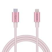MPA-CLPS10PN [USB C-Lightningケーブル//PD/パワーデリバリー対応/iphone/ipad/準高耐久/1.0m/ピンク]