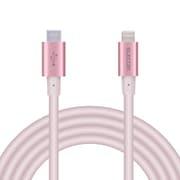 MPA-CLPS20PN [USB C-Lightningケーブル/PD/パワーデリバリー対応/iphone/ipad/準高耐久/2.0m/ピンク]