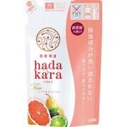 hadakara ボディソープ シトラス&カシスの香り 詰替 360mL