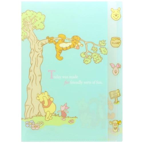 S2121867 [限定 Dクリアファイル5P Winnie the Pooh3 木登り]