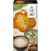 辻利京ラテ 黒みつ抹茶ミルクとほうじ茶ミルク6P