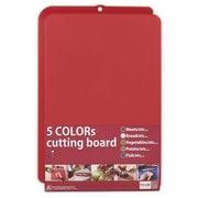 5colors cutting board(茜色) 肉類