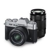 FUJIFILM X-T30 ダブルズームレンズキット シルバー [ボディ+交換レンズ「XC15-45mm F3.5-5.6 OIS PZ」+「XC50-230mm F4.5-6.7 OIS II」]