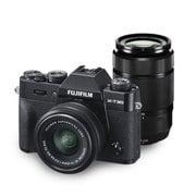 FUJIFILM X-T30 ダブルズームレンズキット ブラック [ボディ+交換レンズ「XC15-45mm F3.5-5.6 OIS PZ」+「XC50-230mm F4.5-6.7 OIS II」]