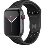 Apple Watch Nike Series 5(GPS + Cellularモデル)- 44mm スペースグレイアルミニウムケースとアンスラサイト/ブラックNikeスポーツバンド [MX3F2J/A]