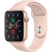 Apple Watch Series 5(GPSモデル)- 44mm ゴールドアルミニウムケースとピンクサンドスポーツバンド [MWVE2J/A]