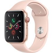Apple Watch Series 5(GPS + Cellularモデル)- 44mm ゴールドアルミニウムケースとピンクサンドスポーツバンド [MWWD2J/A]