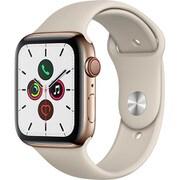 Apple Watch Series 5(GPS + Cellularモデル)- 44mm ゴールドステンレススチールケースとストーンスポーツバンド [MWWH2J/A]