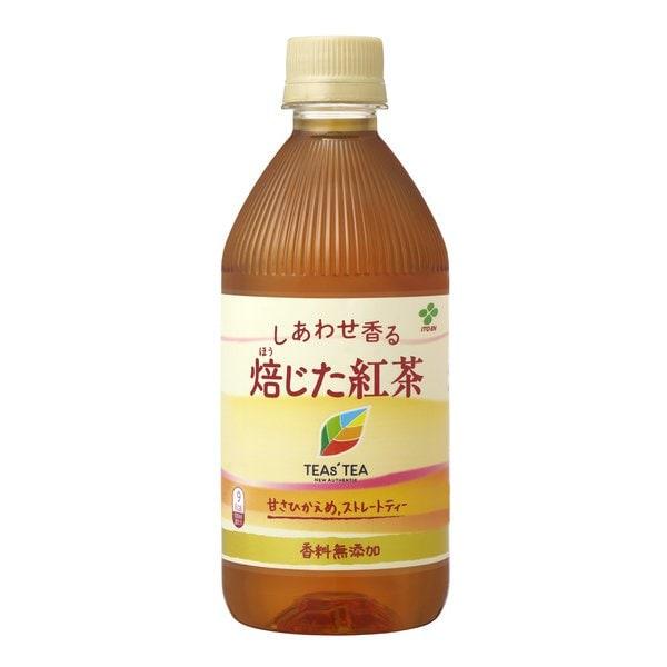 TEAs'TEA NEW AUTHENTIC しあわせ香る 焙じた紅茶 500ml×24本