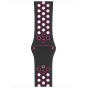 Apple Watch 44mmケース ブラック Nikeスポーツバンド [MWUC2FE/A]