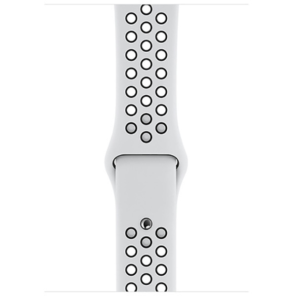 Apple Watch 44mmケース ピュアプラチナム Nikeスポーツバンド [MX8F2FE/A]