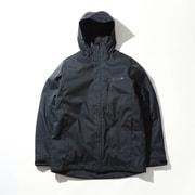 ウィリバードⅣインターチェンジジャケット WE1155 012 Black Melange Sサイズ [アウトドア ジャケット メンズ]