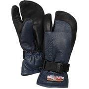 3-Finger GTX Full Leather 33882 Navy/Black サイズ7 [スノー グローブ]