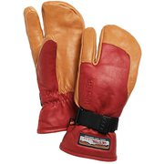 3-Finger GTX Full Leather 33882 Red/Nt.Brown サイズ7 [スノー グローブ]