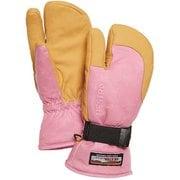3-Finger GTX Full Leather 33882 Cerise/Nt.Brown サイズ8 [スノーグローブ ミトン]
