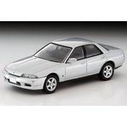 LV-N 日本車の時代15 1/64 日産 スカイライン 4ドアスポーツセダンGTS-t TypeM 銀 89年式 [ダイキャストミニカー]