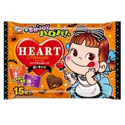 ハロウィンハートチョコレート(ピーナッツ)袋 15枚