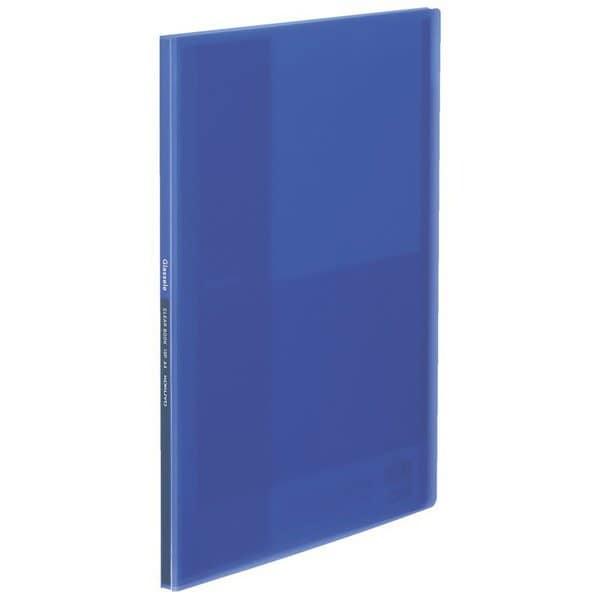ラ-GL10B [クリヤーブック<Glassele>(固定式)A4 10枚 ブルー]