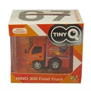 TinyQ-07b 日野 300 フードトラック Book Brother [プラスチックミニカー]