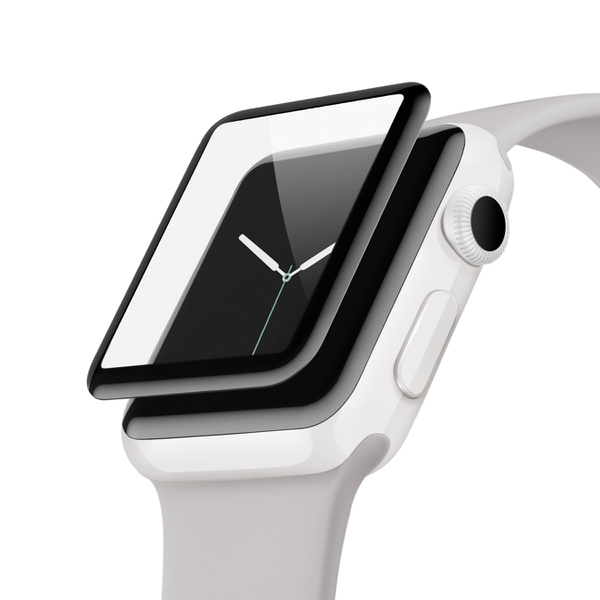 F8W918QE [Apple Watch用スクリ-ンプロテクター (シリーズ2/3 42mm)]