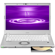 CF-LV8FDSQR [Let's note(レッツノート) LV8シリーズ ノートパソコン 14.0型/Core i5-8265U/メモリ 8GB/SSD 256GB/Microsoft Office Home & Business 2019/シルバー]