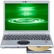 CF-SV8FDMQR [Let's note(レッツノート) SV8シリーズ ノートパソコン 12.1型/Core i5-8265U/メモリ 16GB/SSD 256GB/Microsoft Office Home & Business 2019/シルバー&ブラック(EURO DRESS)]