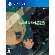 void tRrLM(); //ボイド・テラリウム [PS4ソフト]