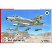 SH72345 イスラエル・サール/SMB-2シュペルミステール攻撃機 [1/72スケール プラモデル]