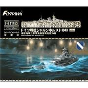 FLYFH1148S ドイツ海軍 戦艦 シャルンホルスト 1943 豪華版 [1/700スケール プラモデル]