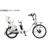 BM0B40 3P060A [電動アシスト自転車 bikke MOB dd 24/20型 内装3段変速 E.XBKホワイト]