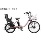 BM0B40 3P060E [電動アシスト自転車 bikke MOB dd 24/20型 内装3段変速 E.Xオールドローズ]