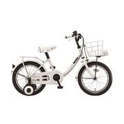 BKM16 2A022A [ジュニア向け自転車 bikke m 16型 E.YBKホワイト]
