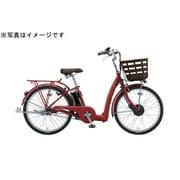 FK4B40 3P074A [電動アシスト自転車 フロンティア ラクット 24型 内装3段変速 T.Xルビーレツド]