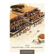 CL-476 [2020年カレンダー MINIATURE LIFE CALENDAR]
