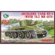 UU72682 露・BT-2砲兵戦車76.2mm砲搭載 [1/72スケール プラモデル]