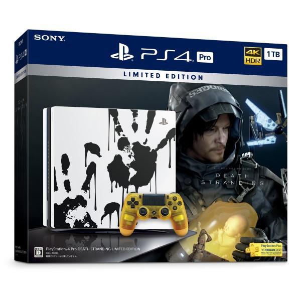 PlayStation 4 Pro DEATH STRANDING LIMITED EDITION(デス・ストランディング リミテッドエディション) [CUHJ-10033]