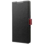 LP-19WG1PIBK [Galaxy Note 10+ PIECE 手帳型ケース ブラック]