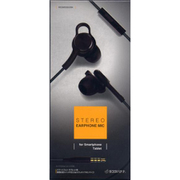 RESMS3502BK [3.5mmプラグ ステレオイヤホンマイク カナル スイッチ付 BK]