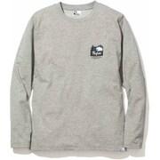 PF ICON LONG T-SHIRTS 5002-95201 ライトグレー Mサイズ [長袖Tシャツ メンズ]