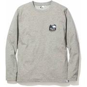 PF ICON LONG T-SHIRTS 5002-95201 ライトグレー Lサイズ [長袖Tシャツ メンズ]
